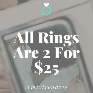 Ring SALE!!🎉🎉💍